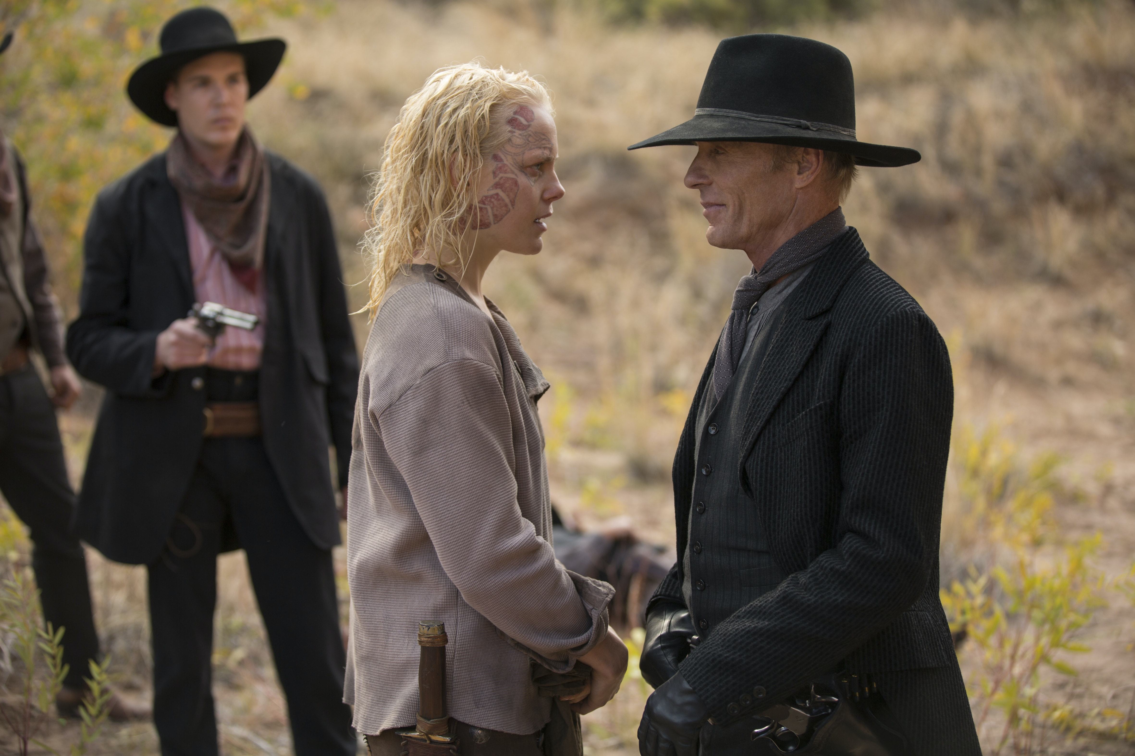 Armistice and The Man in Black in 'Westworld'
