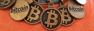 "Bitcoin ""Blockchain"" Necklace"