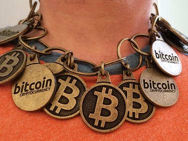 "Bitcoin ""Blockchain"" Necklace"