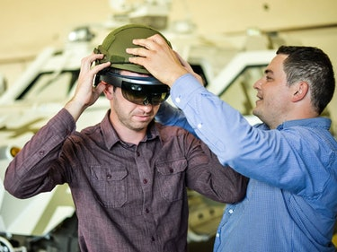 Limpid Armor Creates HoloLens Helmet for Ukraine's Military