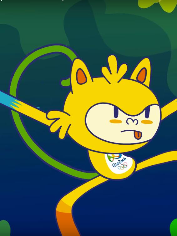 Vinicius Rio Olympics Mascot