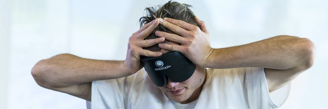 "Chess ""Blindfold King"" Timur Gareyev plans his next move."