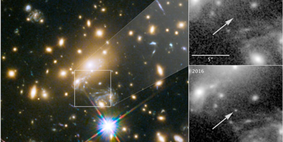 Gravitational lensing allowed astronomers to view a star, which they call Icarus, 9 billion light-years away.