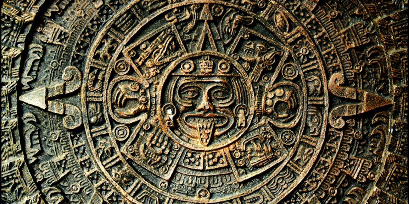 aztec calendar sun stone