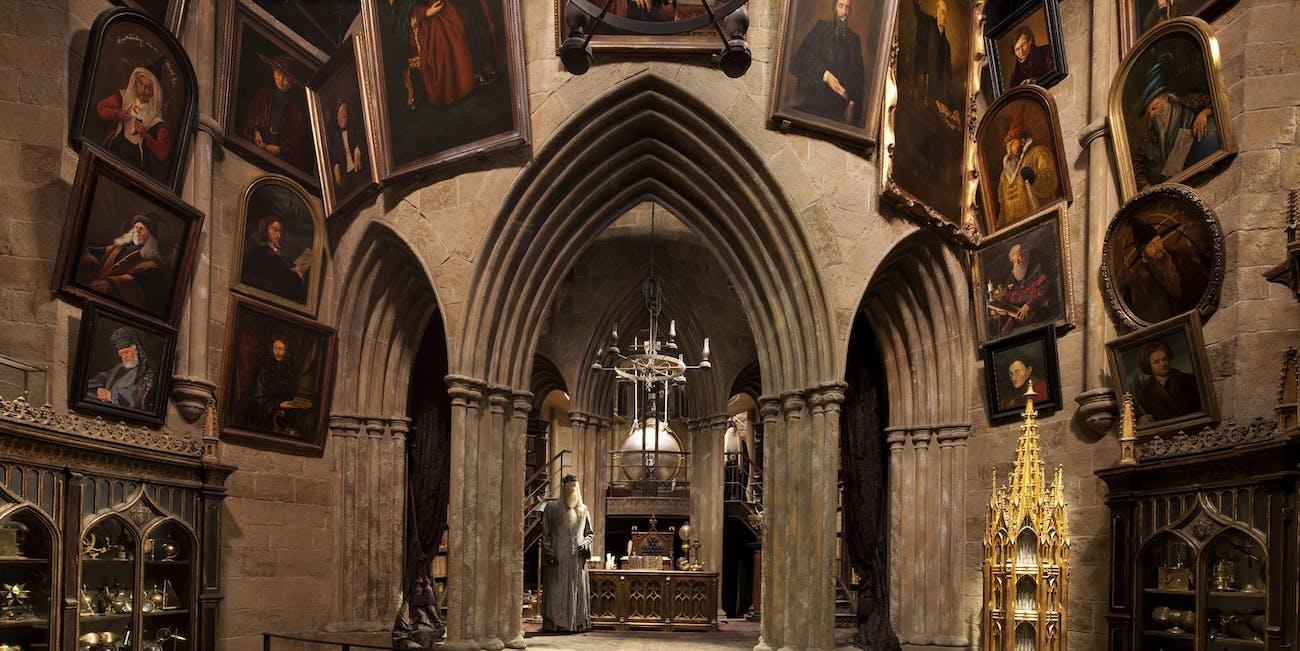 hogwarts headmaster's office