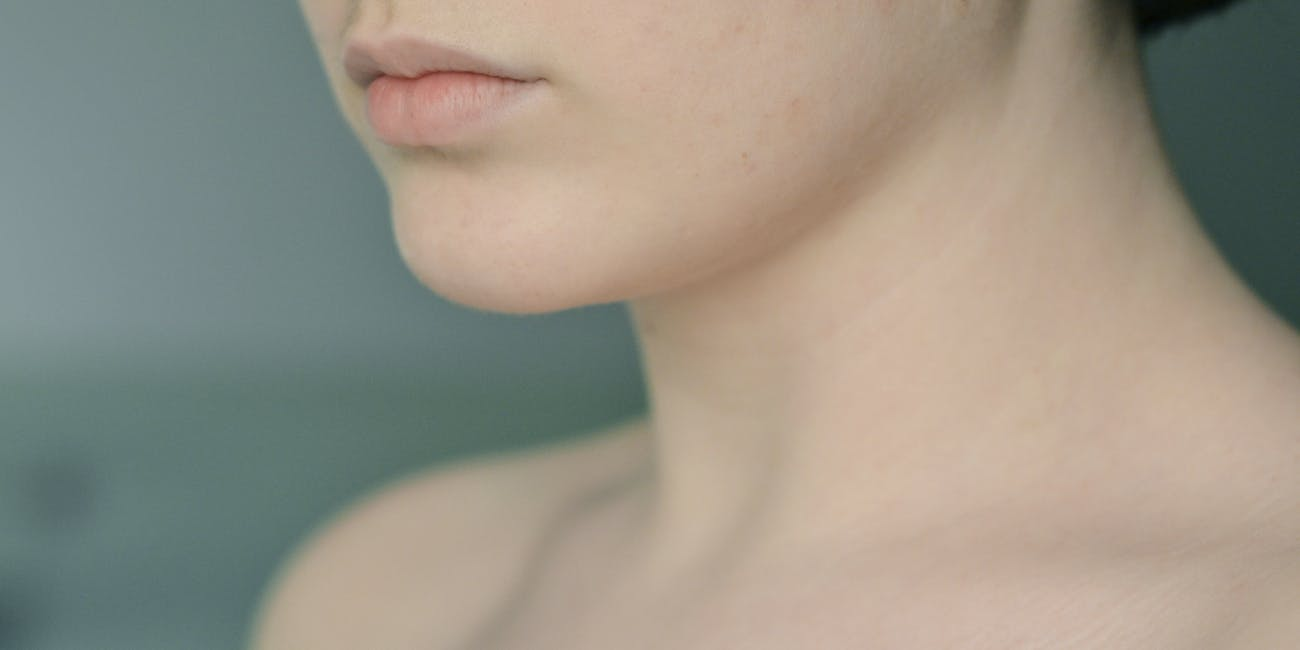 pale lips and skin