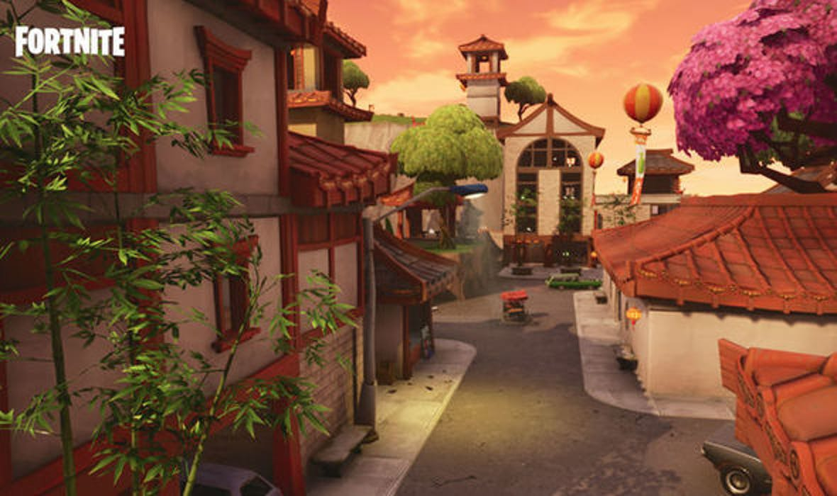 Lucky Landing is just that in 'Fortnite' — lucky.