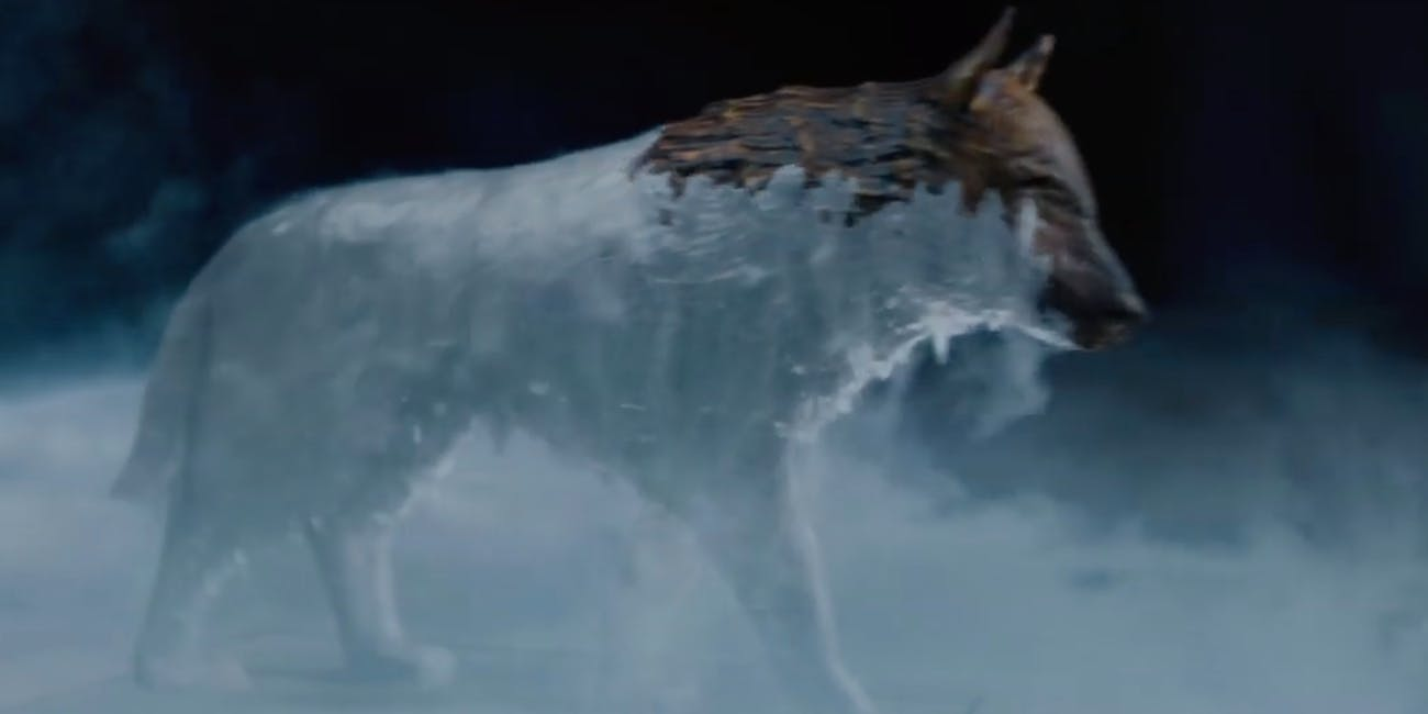 hbo game of thrones season 8 official teaser fire ice direwolf