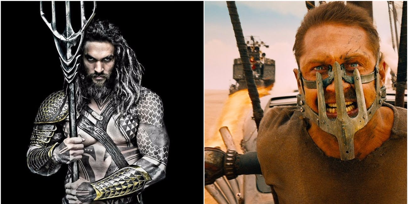 Aquaman and Mad Max: Fury Road