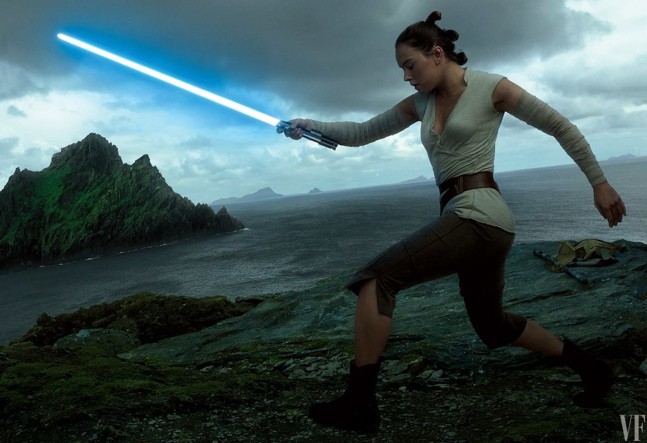 Will Paige ever serve as gunner on the Millennium Falcon now that it's under Rey's ownership?