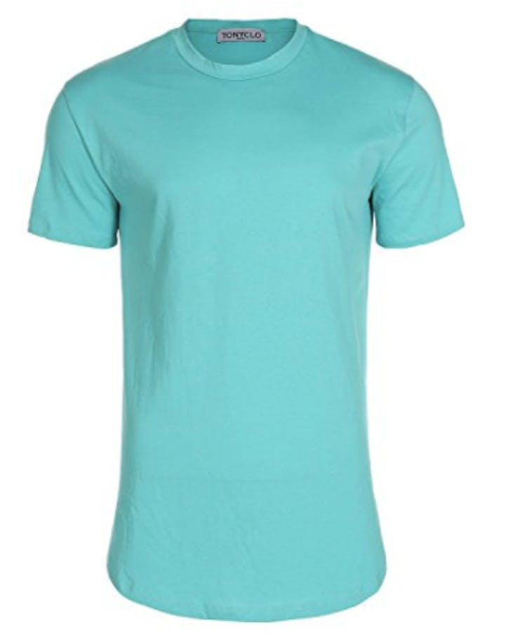 This shirt is cheap, but don't mess up the color.