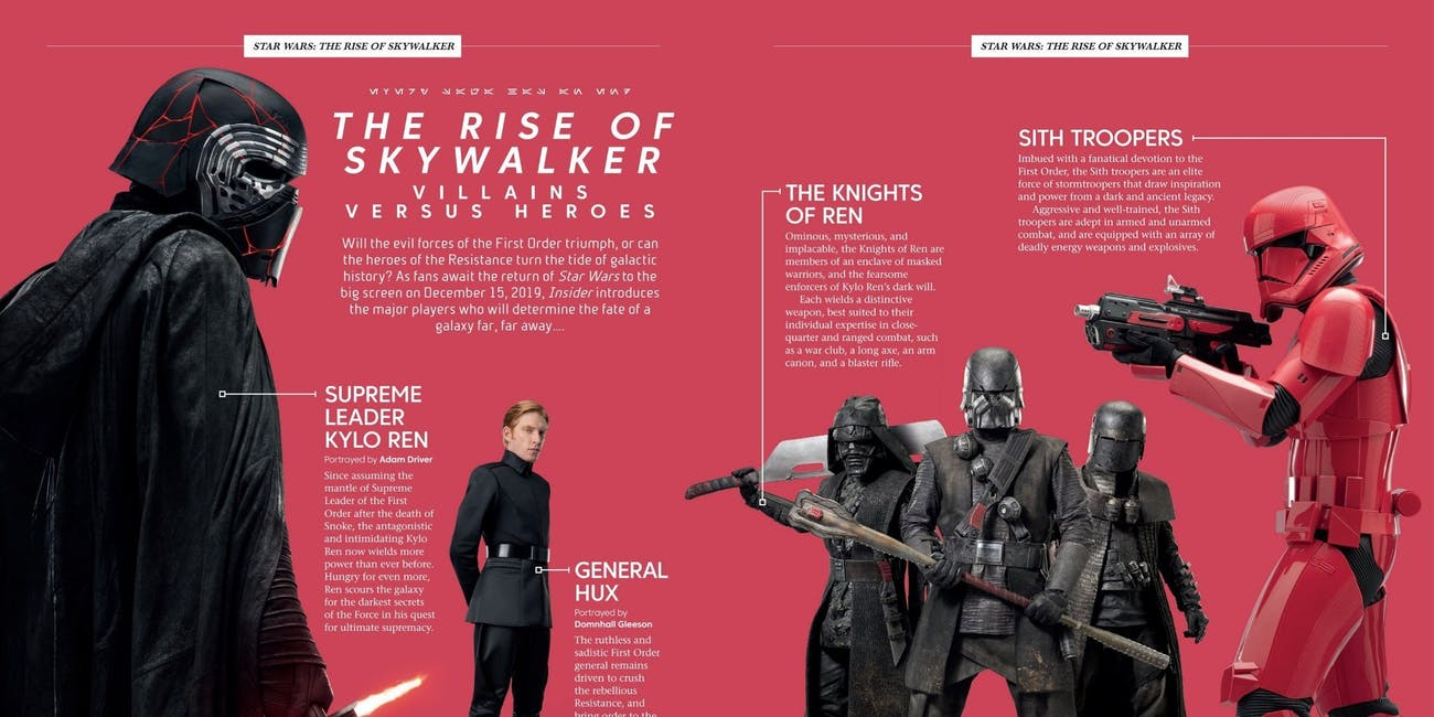 star wars the rise of skywalker kylo description