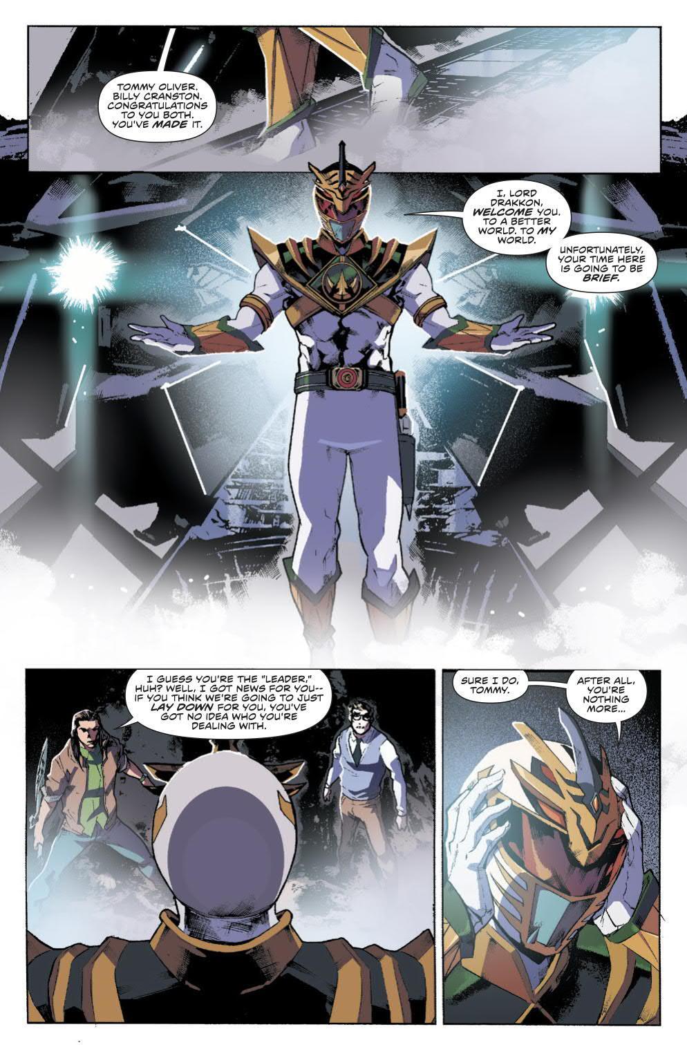 Power Rangers White Ranger Lord Drakkon