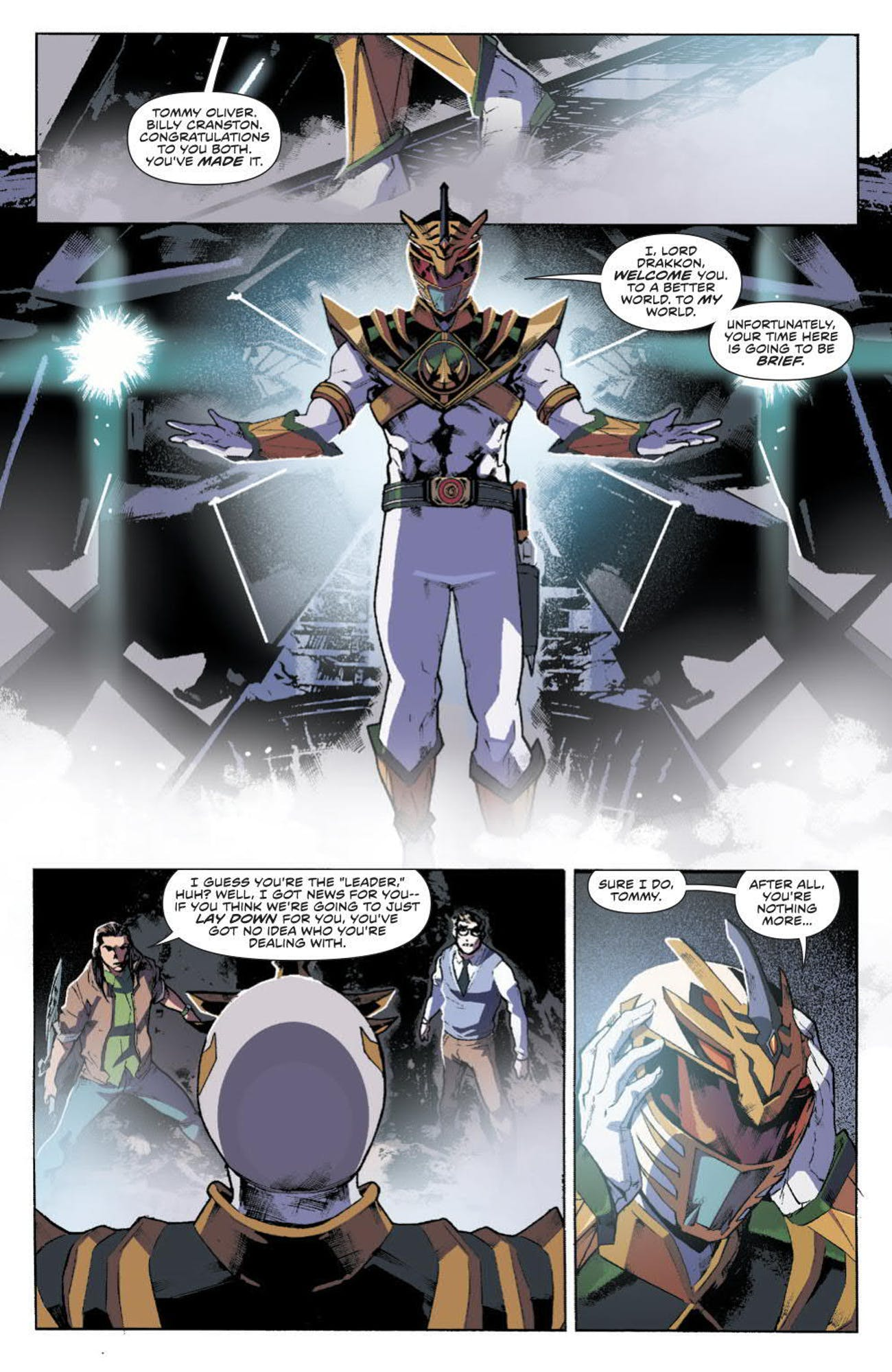 Power Rangers White Ranger Lord Drakkon
