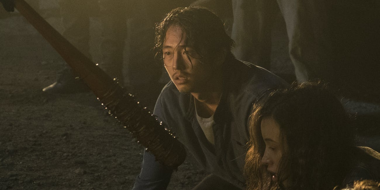Glenn Walking Dead Negan