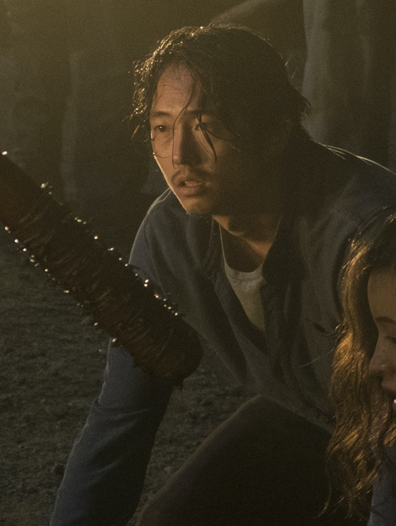 Glenn Walking Dead Negan