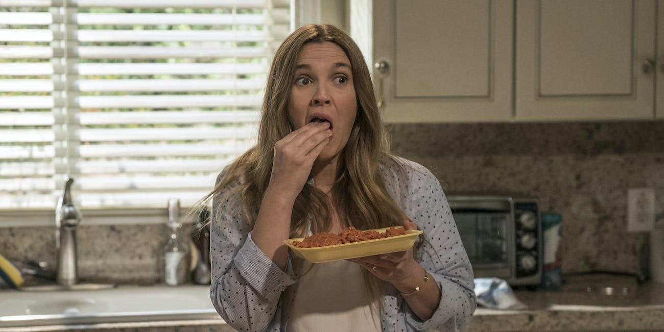 Drew Barrymore Netflix 'Santa Clarita Diet' Zombies Meat