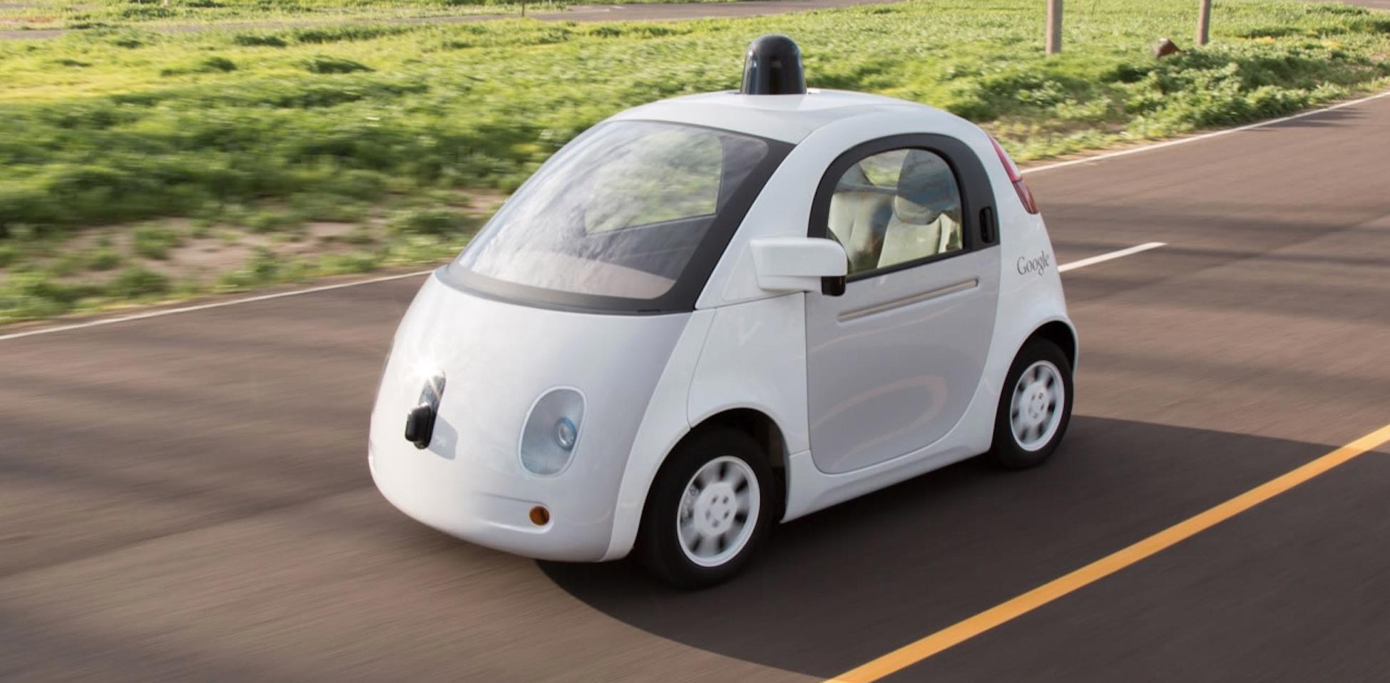 Google's autonomous car prototype.