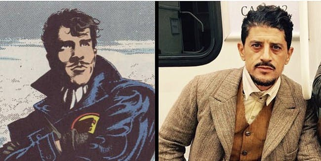 Said Taghmaoui teased his 'Wonder Woman' role on Twitter.