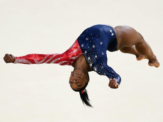 Simone Biles's Physics-Defying, Incredible Flip