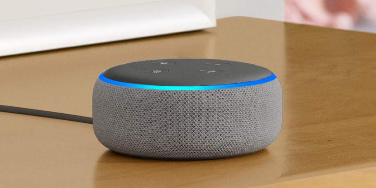 Echo Dot (3rd Gen) - Smart speaker with Alexa - Heather Gray