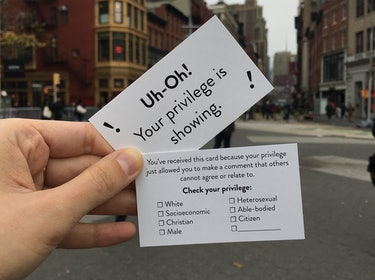 'Check Your Privilege' Cards Are the Wokest Christmas Cards