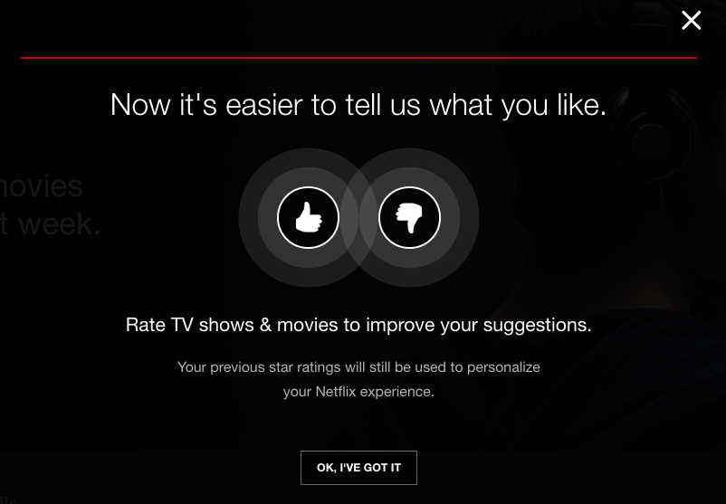 Where's the option to bully Netflix into reversing this decision?