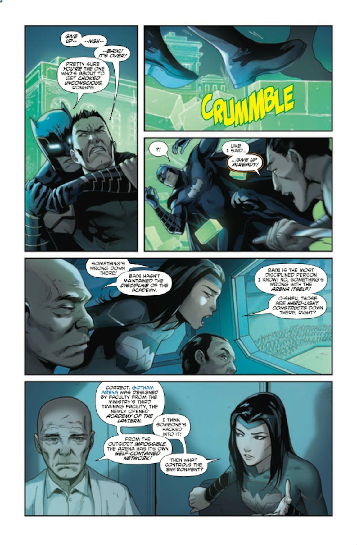 Chinese Green Lantern Batman DC Comics New Super-Man