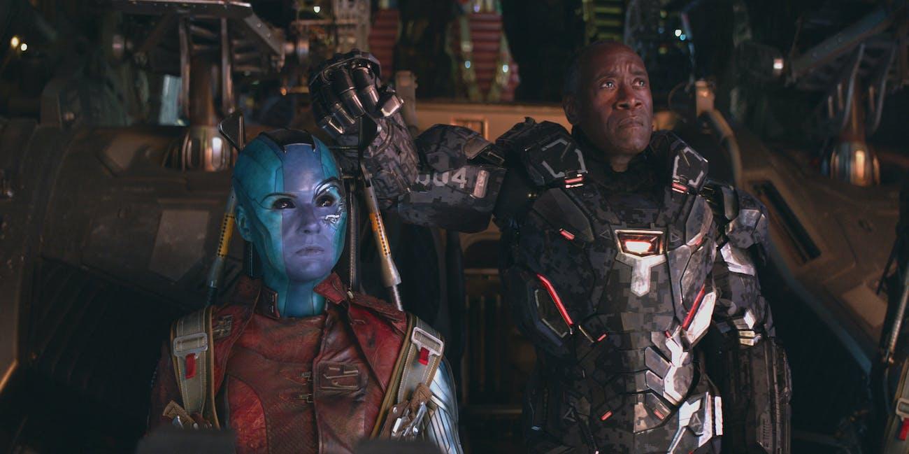 avengers endgame nebula war machine