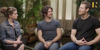 Long John Silver and Billy Bones in 'Black Sails' Season 4