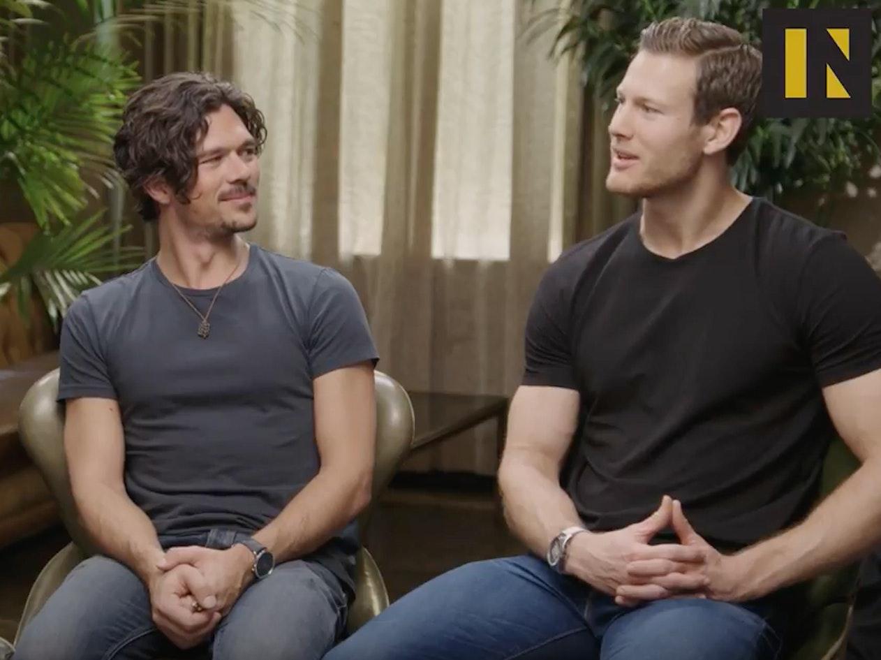 Luke Arnold and Tom Hopper Talk 'Black Sails' Season 4