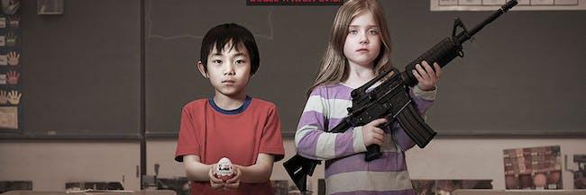 Moms Demand Action Kinder Eggs Assault Rifle
