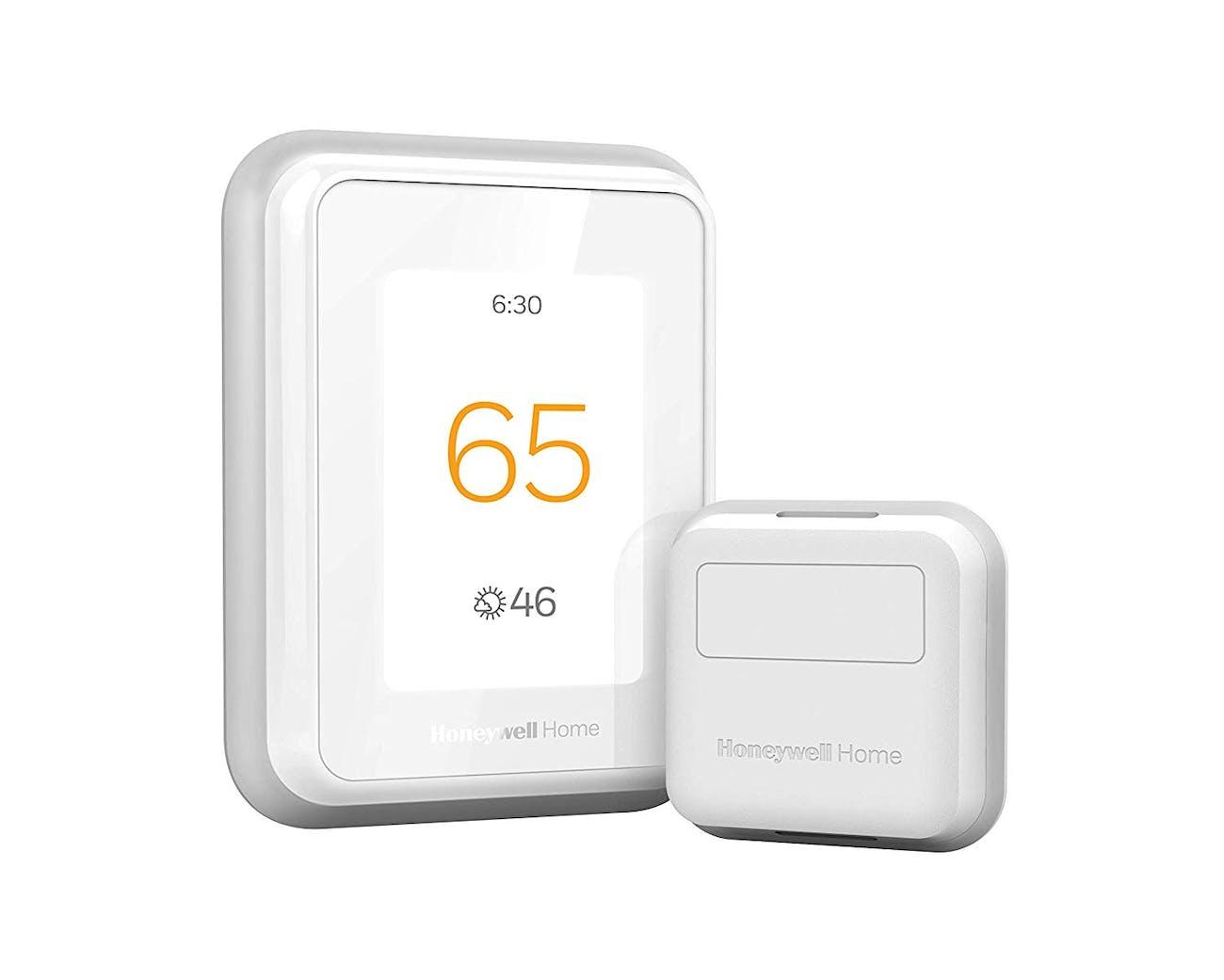 Honeywell Thermostat with Smart Room Sensor, White