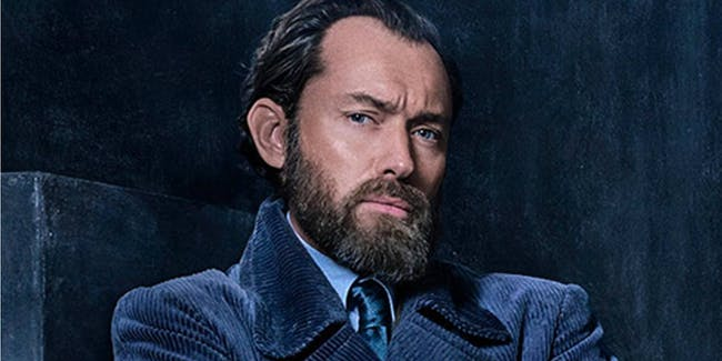 Jude Law as Dumbledore