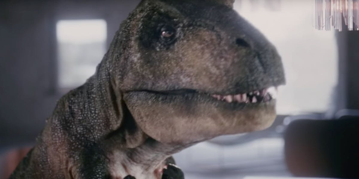 Paleontologist Depressed T Rex In Audi Commercial Is