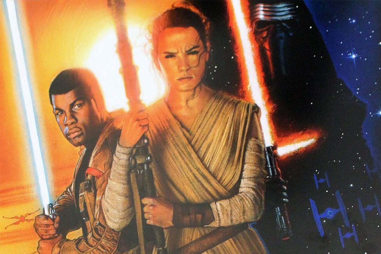 Credit: Disney/Lucasfilm and Drew Struzan
