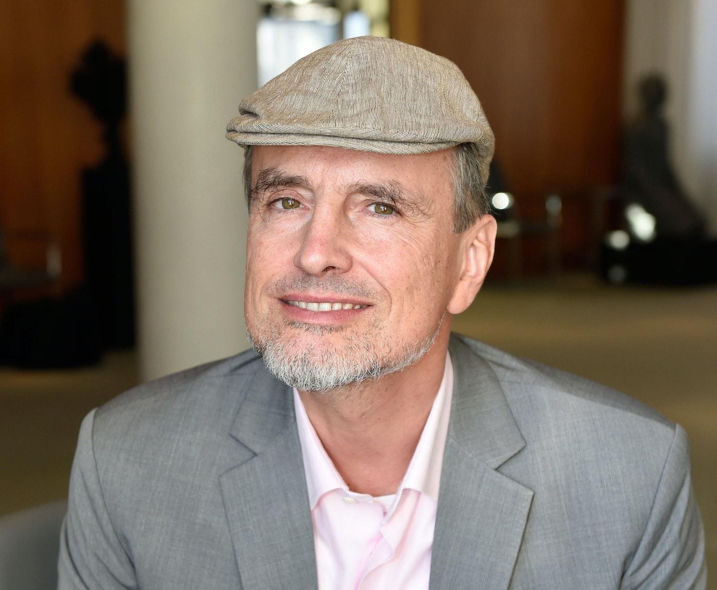 Jürgen Schmidhuber at the International Health Forum, 2015.