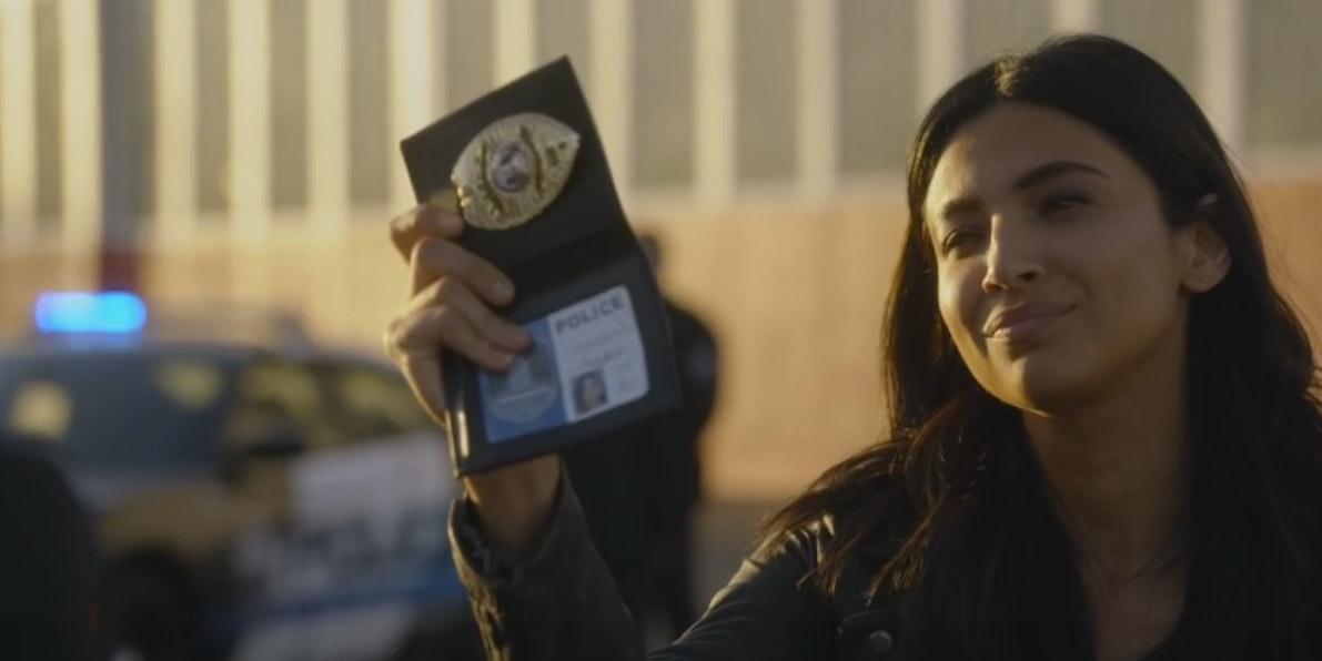 Maggie Sawyer in 'Supergirl'