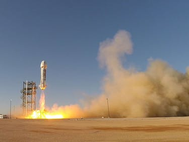 Blue Origin is Still Going to the Moon, Even if Mars is Hip