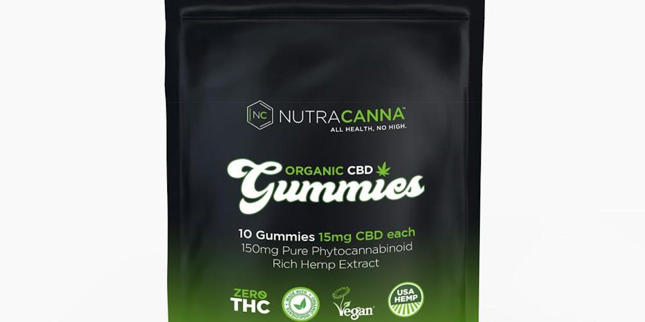 Organic CBD Hemp Gummies 150 MG