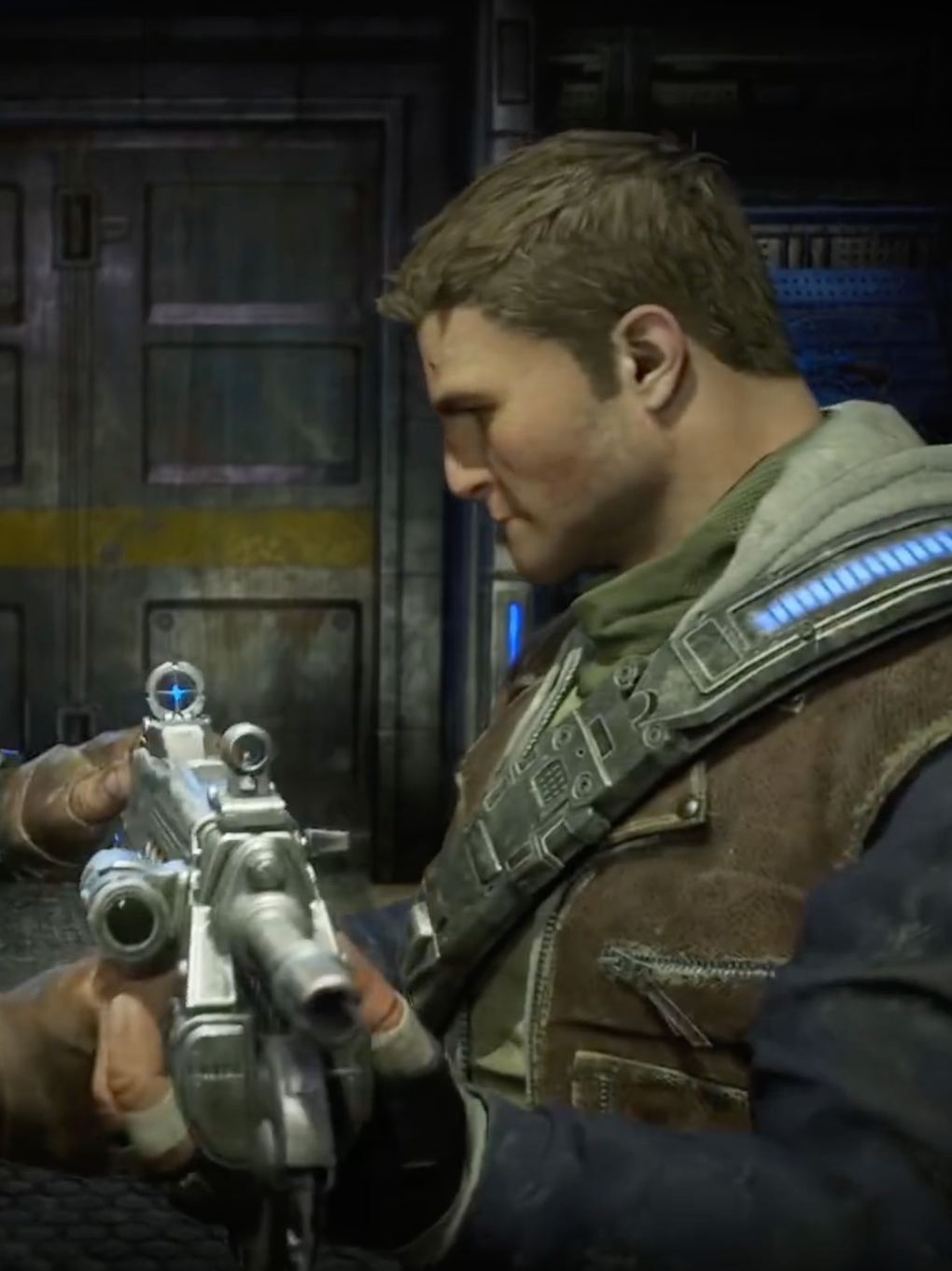 Marcus Feniz is passing the torch to his son, JD, in 'Gears of Wars 4'