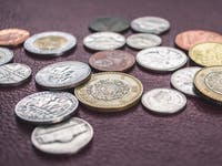 Coins from nations around the world.