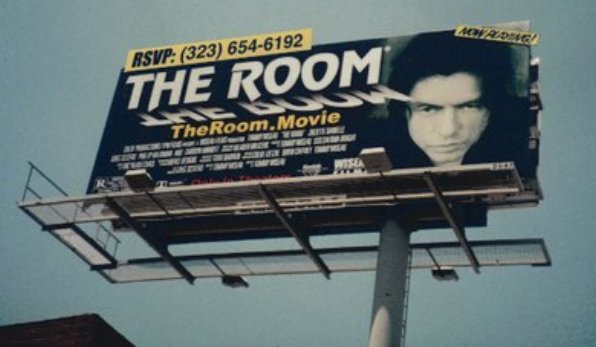 Image result for the room billboard