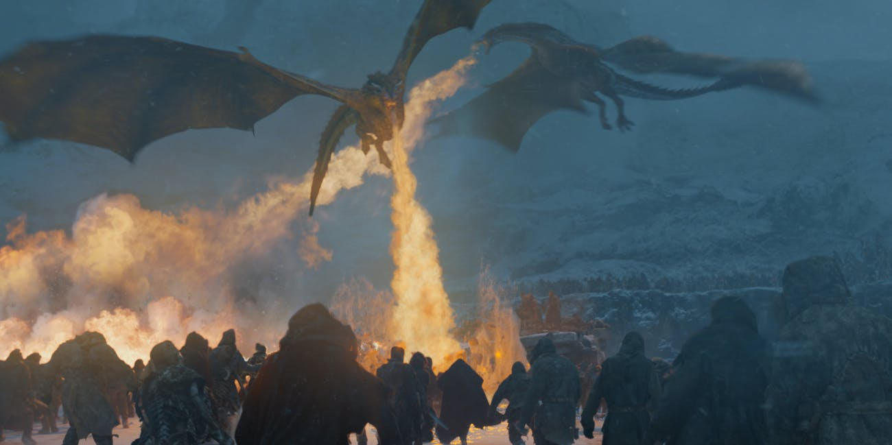 Game of Thrones Dragons