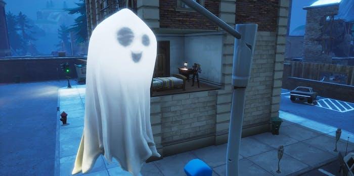 'Fortnite' Fortnitemares Ghost Decorations