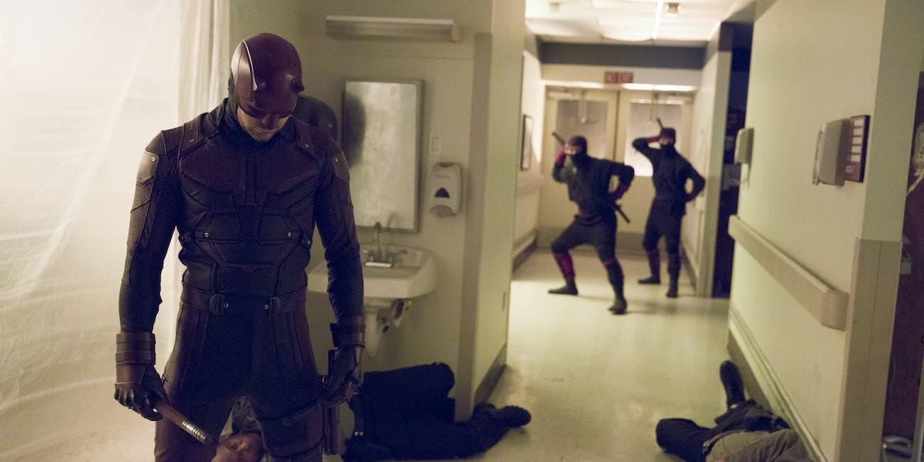 The Hand Iron Fist Daredevil