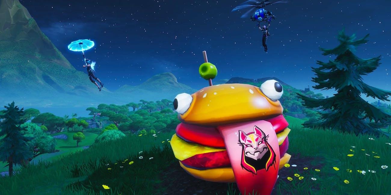 fortnite season x durr burger