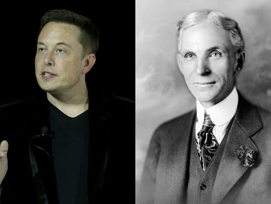 Elon Musk and Henry Ford at 45: Comparing the Two on Musk's Birthday