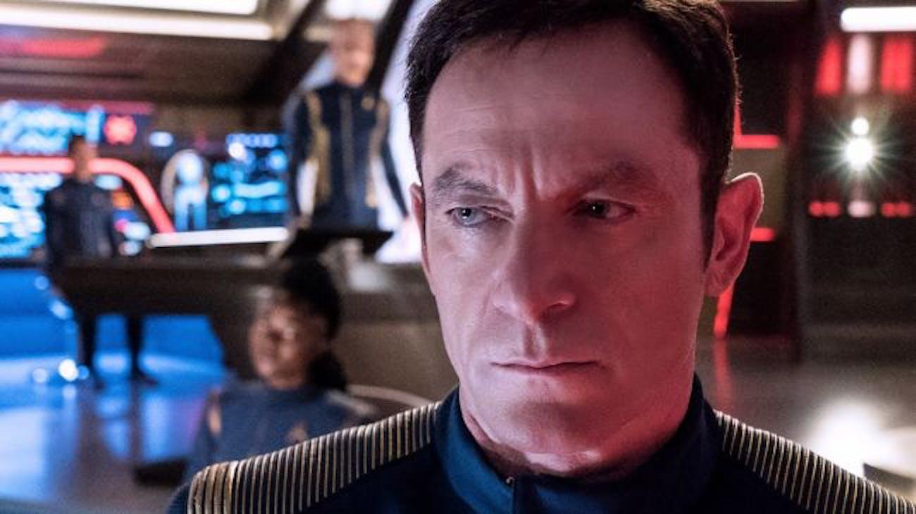 Jason Isaacs as Captain Lorca in 'Star Trek: Discovery'.