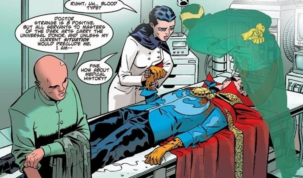 Marvel Comics Doctor Strange Night Nurse